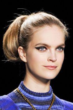 Fall 2013 Makeup Trends - The Best Makeup Looks From Fall 2013 Fashion Week - Harper's BAZAAR