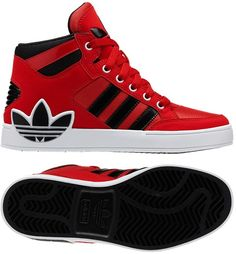 adidas Hard Court Hi Big Trefoil Shoes