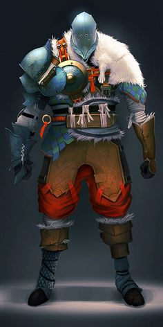 View an image titled 'Armored Man Art' in our Fortress art gallery featuring official character designs, concept art, and promo pictures. Character Creation, Character Concept, Character Art, Concept Art, Character Ideas, Dnd Characters, Fantasy Characters, Rune Knight, Science Fiction