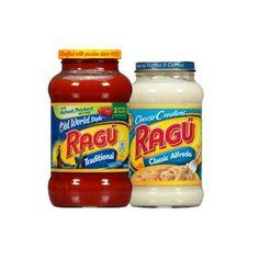 En Walgreens puedes conseguir la Salsa de Pasta Ragu de 16-24 oz a $1.49 en especial. Compra (2) y utiliza (1) cupón manufacturero de $1.25 ..