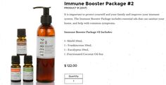 Immune booster package #2 BePure.ly/meshallie