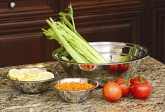 COOKPRO 717 5PC STAINLESS STEEL MIXING BOWL SET VERY DURABLE