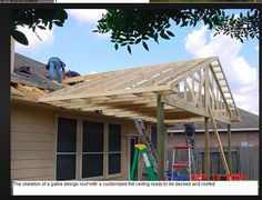 hip roof patio cover building a hip roof patio cover patio gable roof framing plan how to build a i on covered porch hip roof design Porch Roof Design, Hip Roof Design, Patio Roof, Pergola Roof, Gazebo, Backyard Patio Designs, Pergola Designs, Porch Designs, Pergola Kits