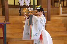Urayasu no mai is a Kagura dance created in 1940.