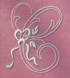 Embroidered initial by Townmouse, via Flickr. Letter C.