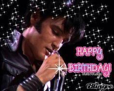 Happy Birthday Elvis Presley (January 8, 1935)