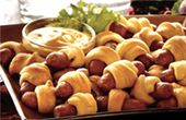 pigs in a blanket- have again for a party!