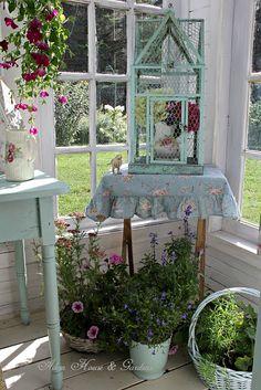 Aiken House & Gardens: Our Little Conservatory