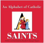 ERC BK270324 - An Alphabet of Catholic Saints Book