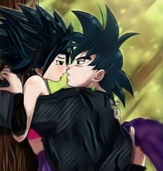 Black Goku ツ Z 戰士 x Cauifla Saiyan