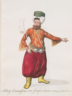 Album of Turkish Costume Paintings Ottoman Empire, New York Public Library, French Artists, Historical Clothing, British Museum, Still Image, Islamic Art, Fashion Sketches, Miniatures