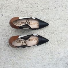 Sam Edelman cowhide pumps I've probably worn these twice! They're in great condition. Sam Edelman Shoes Heels