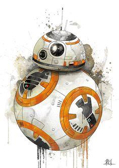 BB-8 by AlexAasen on @DeviantArt