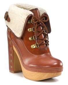"""Lucky Brand """"Tanner"""" Lace-Up Booties"""