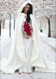 2015-New-Gorgeous-Bridal-Winter-Wedding-Cloak-Cape-Faux-Fur-Long-Ivory-Wraps