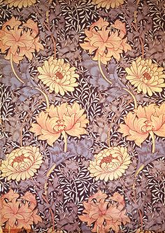 Wallpaper Design Morris, William(1834-1896 British) Victoria & Albert Museum, London, England