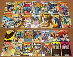 DC BATMAN COLLECTION #487-697 LOT DETECTIVE COMICS,DARK KNIGHT,AZRAEL #1 ISSUE: $64.95 End Date: Thursday May-3-2018 16:00:54 PDT Buy It…