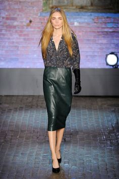 Janice Alida | Yigal Azrouël F/W 2012 New York