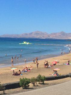Puerto Del Carmen, Lanzarote. Lanzarote Puerto Del Carmen, Canary Islands, Tenerife, Strand, Places Ive Been, Golf Courses, Cities, Spain, Europe
