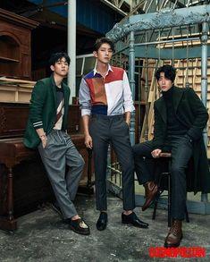 "Baekhyun ""Scarlet Heart: Goryeo"" IU, Lee Joon Gi, And More Feature In New Cuts From Cosmopolitan Park Hae Jin, Park Seo Joon, Hong Jong Hyun, Jung Hyun, Lee Joongi, Lee Jun Ki, Korean Star, Korean Men, Asian Actors"
