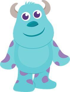 Sully - Monsters, Inc. Sully Monsters Inc, Monsters Ink, Cute Monsters, Little Monsters, Monster Inc Party, Monster Birthday Parties, Monster Mash, Monsters Inc Baby Shower, Monster Clipart