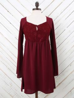 Altar'd State Holiday Lace Dress
