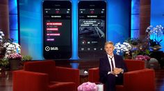 Ellen Reveals Her Beats Music Super Bowl Commercial--LG G Flex!
