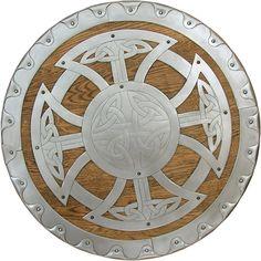 Nice deocration on shield.