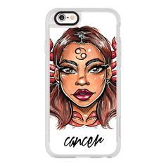 iPhone 6 Plus/6/5/5s/5c Case - Cancer - Zodiac Series ($40) ❤ liked on Polyvore featuring accessories, tech accessories and iphone case