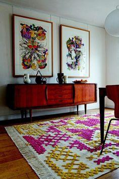 Giant Cross Stitch rug