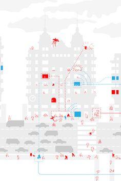 Gran Vía Procomún   ecosistema urbano Architecture Drawings, Drawing Style, Inspiration, Sustainability, Architecture Sketches, Biblical Inspiration, Architectural Drawings, Architecture Design, Inspirational