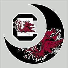 Gamecock Moon Gamecock Basketball, Sec Football, College Football Teams, Football Stadiums, South Carolina Gamecocks Football, Gamecock Nation, Clemson, Go Gamecocks, University Of South Carolina