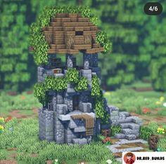 Minecraft Songs, Minecraft House Plans, Minecraft Wall, Minecraft Castle, Cute Minecraft Houses, Minecraft Creations, Minecraft Crafts, Minecraft Designs, Minecraft Stuff