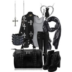 Rocker Style Clothing for Women | Black is the new black. | Rock and Roll Women |Fashion |Style