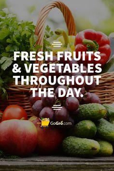 #GoGro.com - Delivering Fresh Fruit & Vegetables at Your Doorstep with a no questions asked hassle-free Return Policy.