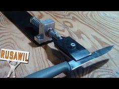 Описание и чертежи поворотного устройства ножа для точилки. Чертежи поворотного механизма проектировал под свою универсальную и компактную точилки http://you...