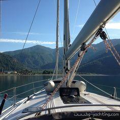 We were sailing in Turkey, what a view!  www.bg-yachting.com  #comeandsail #sail #sailing #sailingboat #boat #turkey #summer #sun #sunshine #sea #friends #fun #yolo