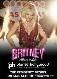"""Britney Spears Officially Announces """"Piece Of Me"""" Residency At Planet Hollywood Las Vegas"""