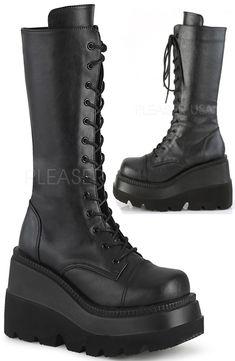 87ff2493b15 Demonia Shaker 72 Goth Boots