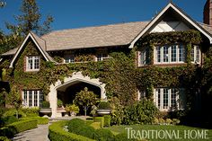 Tour actor Sean Hayes' lovely Tudor-style home. - Photo: Michael Garland