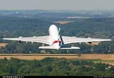 Photo of A6-EDU Airbus A380-861 by Michael Fritz
