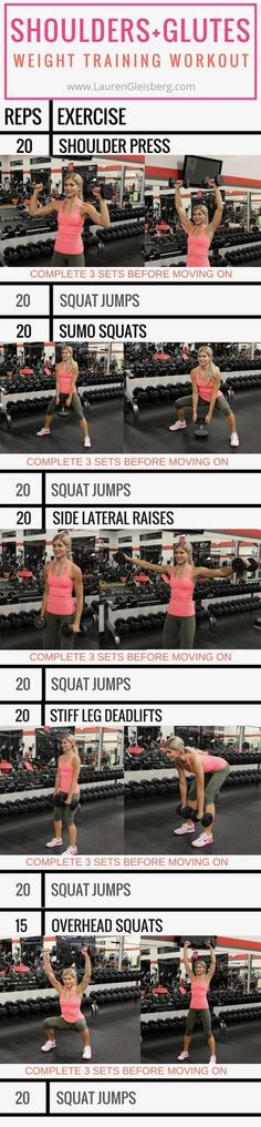 Shoulders and Glutes Workout   Posted by: NewHowtoLoseBellyFat.com