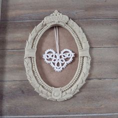Tatting Pattern Tatted Heart by Decoromana PDF by TattingPattern, £2.00