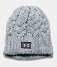 Women's Under Armour Around Town Beanie. One size fits all. Feels soft and works hard to keep you warm. A great stocking stuffer idea.