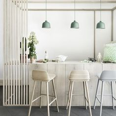 Buy Muuto Grain Pendant Light online with Houseology Price Promise. Full Muuto collection with UK & International shipping. Kitchen Pendant Lighting, Kitchen Pendants, Pendant Lights, Muuto Lighting, Task Lighting, Lighting Ideas, Modern Lighting, Pendant Lamps, Ceiling Lighting