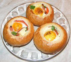 Bun Recipe, Bruschetta, Quick Meals, Food And Drink, Eggs, Breakfast, Easy Recipes, Food, Salads