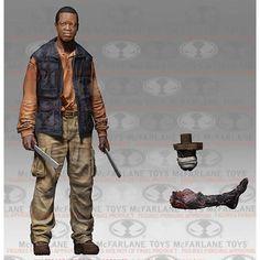 "BOB STOOKEY The Walking Dead TV Series 8 McFarlane 5"" Action Figure"