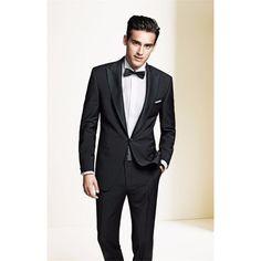 Custom Made Groom kingsman Suit Formal Wedding Suits For Men 2017 (Jackets+Pants) black Classic masculino Bridegroom mens Suits