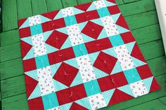 Crafty Gemini: How to Tie a Quilt