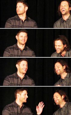 [gifset] Jensen and Jared at #HousCon15